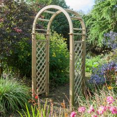 Blooma Chiltern Timber Arch (H)2.5m (W)1.24m (D)650mm - Assembly Required | Departments | DIY at B&Q