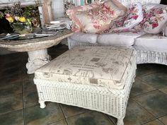 Wonderful wicker table