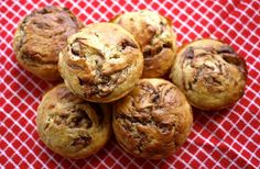 The Londoner: Nutella Swirl Banana Muffins