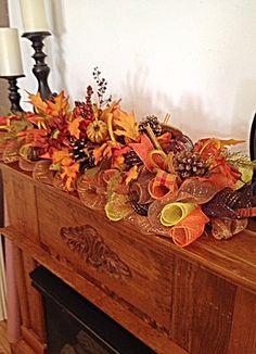 Fall Arrangement/Autumn Centerpiece/Fall by CKDazzlingDesign