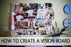 A vision board or goals board is a terrific way to keep your goals and dreams top of mind. Here's how to make a goals board with simple step-by-step instructions.
