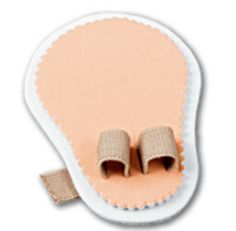 DOUBLE TOE STRAIGHTENER. Helps align crooked toes. Comfy foam pad with adjustable toe loop uses gentle pressure to ease pain and help align crooked, overlapping or hammertoes. Wear with any shoe. $8.98