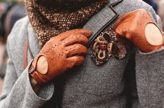 """Anything """"old-fashioned"""" or """"dapper"""" appeals to the traditional Capricorn. Driving gloves are a good example."""