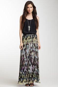 HauteLook   Isabel Lu: Silk Maxi Skirt