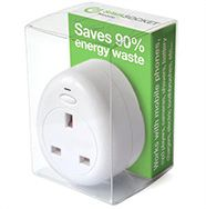 Handy plug that detects when your gadgets' batteries are full and automatically cuts the power.