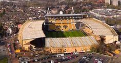 One of the shots from our drone shoot in Wolverhampton today with a lens . Football Stadiums, Wolverhampton, Aerial Photography, Drones, Wolves, Shots, Lens, Inspire, Inspiration