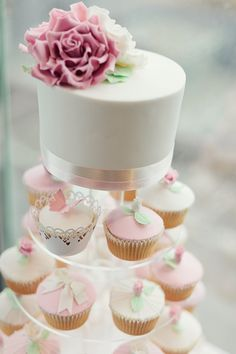 I would have this cake & cupcake tower!