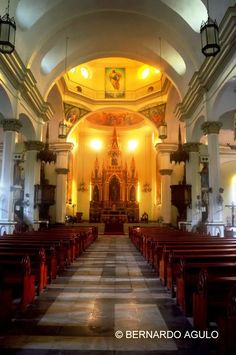 St. Anne Church Interior, Molo, Iloilo City, Philippines