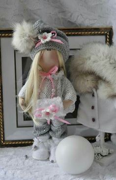 Кукла Снежка