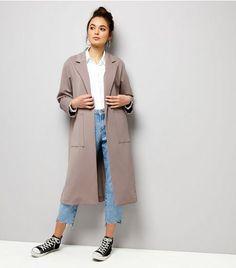 Lilac Soft Maxi Duster Coat | New Look