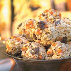 Corny Candy Popcorn Balls