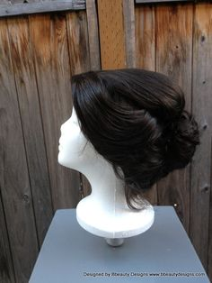 Mary Poppins Nanny Inspired Wig Screen Quality Custom by Bbeauty79