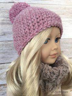 "Quick & Easy Crochet Pattern for 18"" American Girl Dolls"