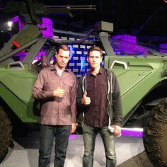 NCIS Sean Murray and Brian Dietzen
