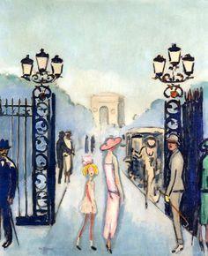 Kees van Dongen (Dutch, 1877-1968), La Porte Dauphine, c.1924-25. Oil on canvas. Private collection.