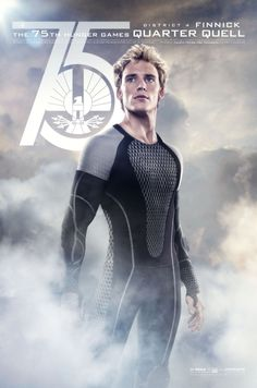 """Finnick, District 4   """"Hunger Games: Catching Fire"""" Releases Quarter Quell Movie Posters"""