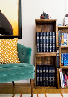 When Tessa and her husband Sébastien moved from Paris to the capital of California, they weren't sure how to bring their nomadic lifestyle with them. A major move and a living room makeover later, their books, keepsakes, and travel memorabilia are beautifully packed into a mere 700-square-foot apartment in the city of trees. Their eclectic space is filled with living room decorating ideas for places with limited square footage.