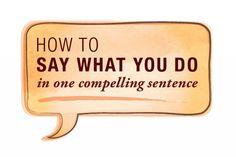 How to Explain What You Do