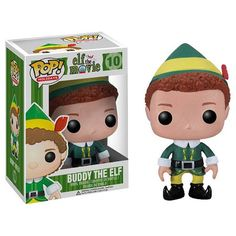 Elf Buddy the Elf Pop! Vinyl Figure you deserve to be in a box will farrel after eating BEAR GRYLLS TWINKIE