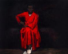 British/Ghanian artist Lynette Yiadom-Boakye