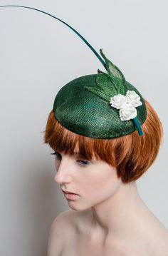 Rose Beret From Robyn Coles Millinery