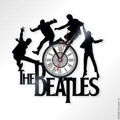 Купить или заказать Часы из пластинки 'The Beatles' в интернет-магазине на Ярмарке Мастеров. Часы делаются из старых виниловых пластинок. У каждого изделия своя история, своё настроение и чтобы его передать полностью мы сохраняем родную упаковку пластинки. Каждая пластинка индивидульна, у каждой свои пошарпоности и потертости. Изделие обязательно будет отличаться от того что на фотографии, потому что это не тиражное производство, а индивидуальное изменение личности каждой пластинки… The Beatles, Beatles Poster, Record Clock, Record Art, Diy Clock, Wood Clocks, Scroll Saw, Something Beautiful, Laser Engraving