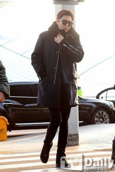 2015-1-9 at Incheon Airport to Malaysia | Lee Min Ho