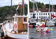 Tall Girl's Fashion // Visiting Oscarsborg Fortress, Drøbak, by boat Oslofjord Tall Girl Fashion, Fashion Blogs, Oslo, Sailing Ships, Boat, City, Image, Dinghy, Boats