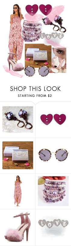 """""""Love"""" by mariannemerceria ❤ liked on Polyvore featuring Prada, Tiare Hawaii and SpecialTweek"""