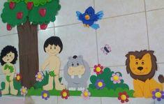 Jardim do Éden de EVA- Adão e Eva - kit 34 pçs GRANDE no Elo7 4c30a54ccafa4