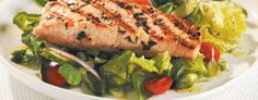 Greek-Style Salmon *Made this tonight (3/19)...YUMMM!!!  Especially w/ the Tzatziki sauce*