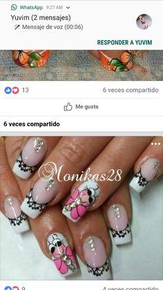 Natural Acrylic Nails, Fingernail Designs, Pedicure, Make Up, Victoria, Nail Art, 3d, Shorts, Nail Art Designs