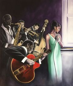 Jazz Room by Conrad C. Jones