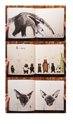 Almost an Animal Alphabet by Katie Viggers