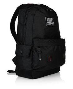 f120a0fda170 Superdry Real Montana Rucksack in Black 5 Superdry Backpack, Superdry Bags,