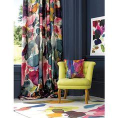 Big Archie Linen - Designer Linen Fabric | bluebellgray