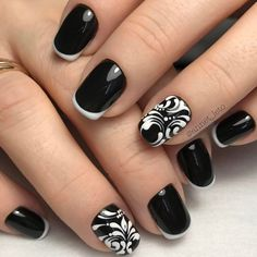 French Manicure Designs for Inspiration ★ See more: http://glaminati.com/french-manicure-nail-designs/