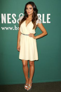 Shay Mitchell, love the dress