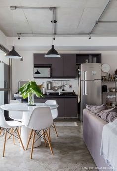 Apê charmoso com estilo escandinavo | Histórias de Casa