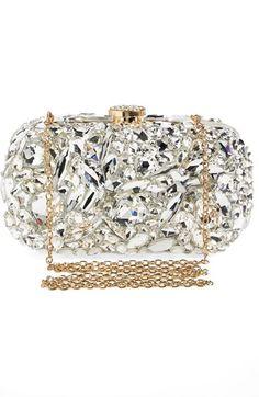 Natasha Couture 'Ice Crystal' Minaudiere ᘡղbᘠ