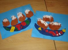 * Cut and paste a bowl with oliebollen. Put the glue on top and sprinkle … – Knippen New Years Activities, Activities For Kids, Fireworks Craft, Diy And Crafts, Arts And Crafts, Something Old, Christmas Crafts For Kids, Creative Kids, Drawing For Kids