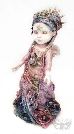 """Finn's art doll """"Hope"""""""
