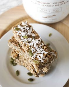 Almond Coconut Chewy Bars Ingredients 1 2 Cup Butter Tbsp Oil Protein