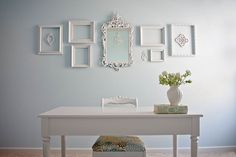 Shabby Chic Craft Room I'm swooning again.....:)
