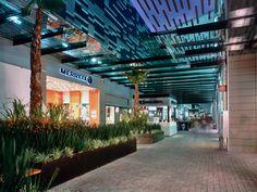 Paseo Acoxpa, Mexico City Plaza Design, Mall Design, Shopping Mall Interior, Shopping Street, Mall Facade, Commercial Center, Strip Mall, Master Plan, Shopping Center
