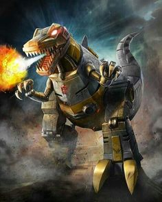 Dinobots Leader Grimlock Artwork From Transformers Legends Game Grimlock Transformers, Transformers Prime, Gi Joe, Geeky Wallpaper, Transformers Collection, Harry Potter, Classic Cartoons, Comic Book Characters, Transformer Tattoo