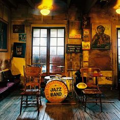 Preservation Hall -New Orleans Estaba recordando esta experiencia! Such an amazing jazz show! Def have to go back to NOLA Alma!