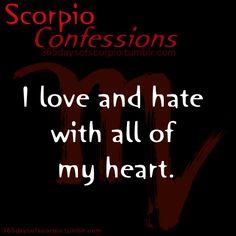 Scorpio's Confess