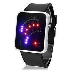 Relógio+LED+com+Bracelete+de+Silicone+–+BRL+R$+18,07
