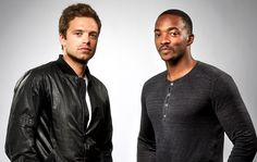 This week's Empire Podcast contains these two handsome chaps, Sebastian Stan and Anthony Mackie, talking about The Winter Soldier, and also MISS PIGGY AND KERMIT. Download it while it's hot!